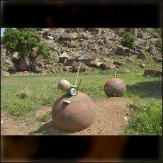 Nubski grob v vasi Tesori