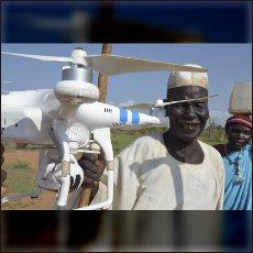 Tradicionalni Nube vidijo v dronih nekaj kot leteče oči tujega boga.