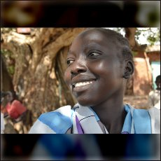 Girl Kony from our short documentary film on May 12th.