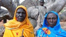 Kamniti obrazi ne kažejo mehkosti srca žena v Kauniaru