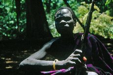 Indigenious freedom fighter, Katchipo tribe, Republic of South Sudan
